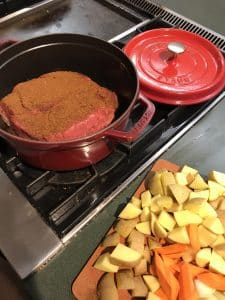 Pot Roast Cooking