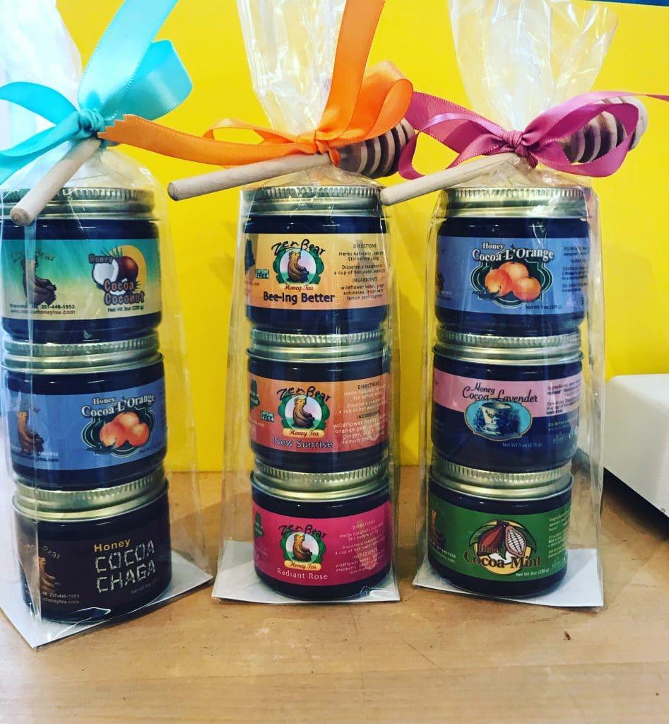Zen Bear Honey Gift Sets