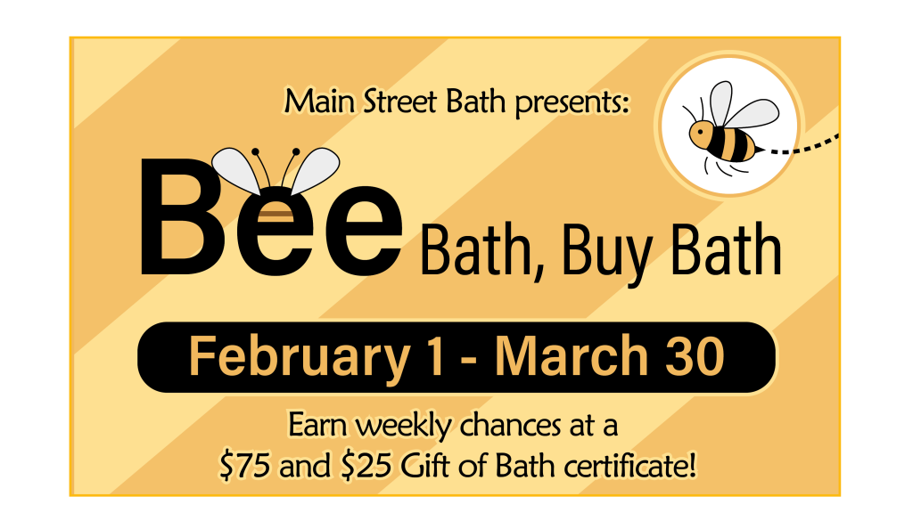 Bee Bath, Buy Bath Header