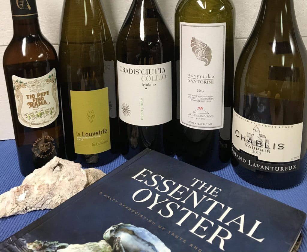 Wine Pairings with Oysters