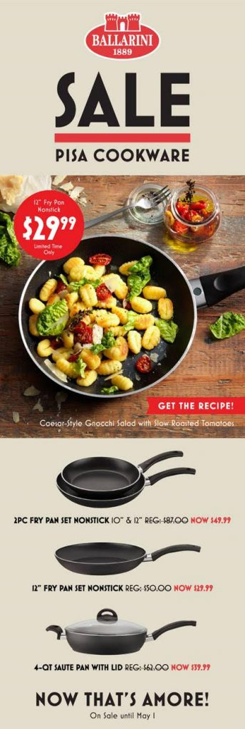 Pisa Cookware Sale