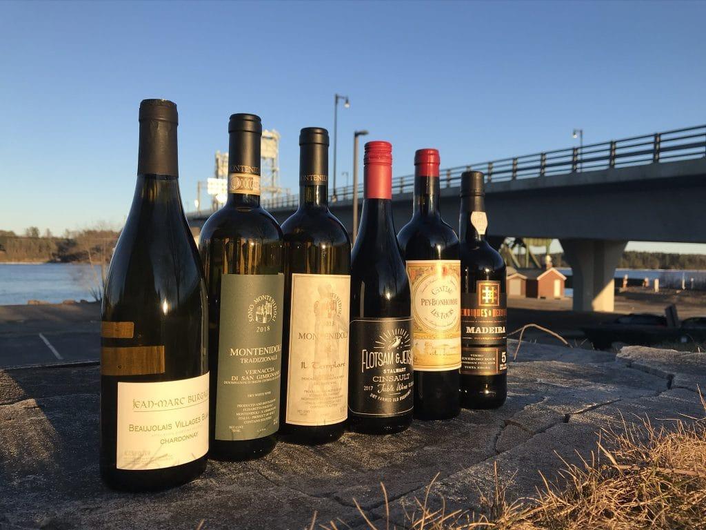 Wine Tasting Lineup