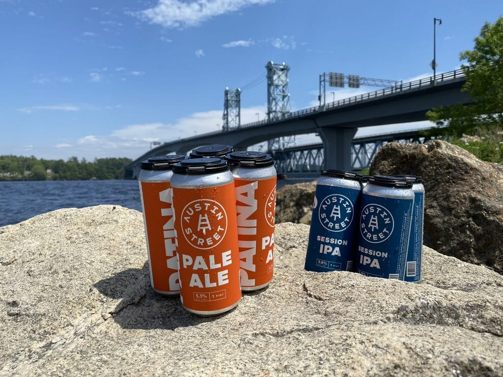 Austin Street Brewing Cans