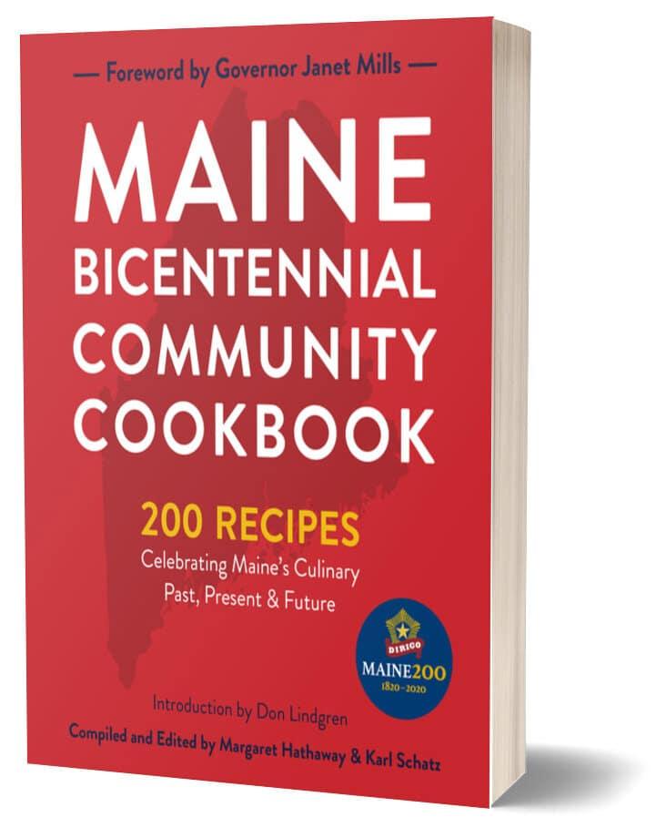 Maine Bicentennial cookbook
