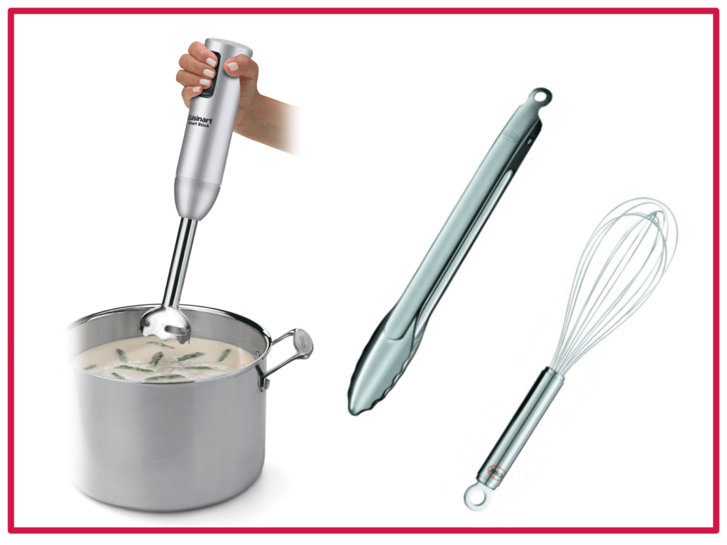 Immersion Blender and Rosle Tools
