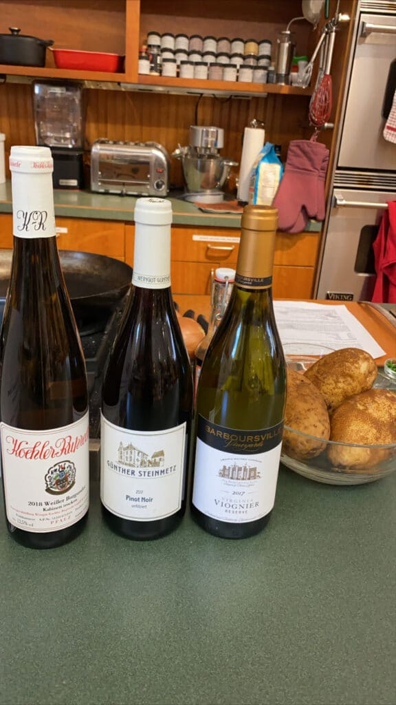 White wines to drink with chicken