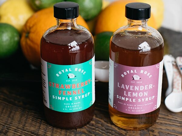 Royal Rose Simple Syrup