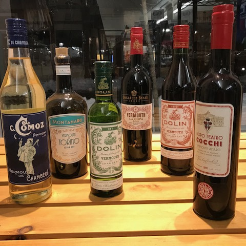 Vermouth Tasting Lineup
