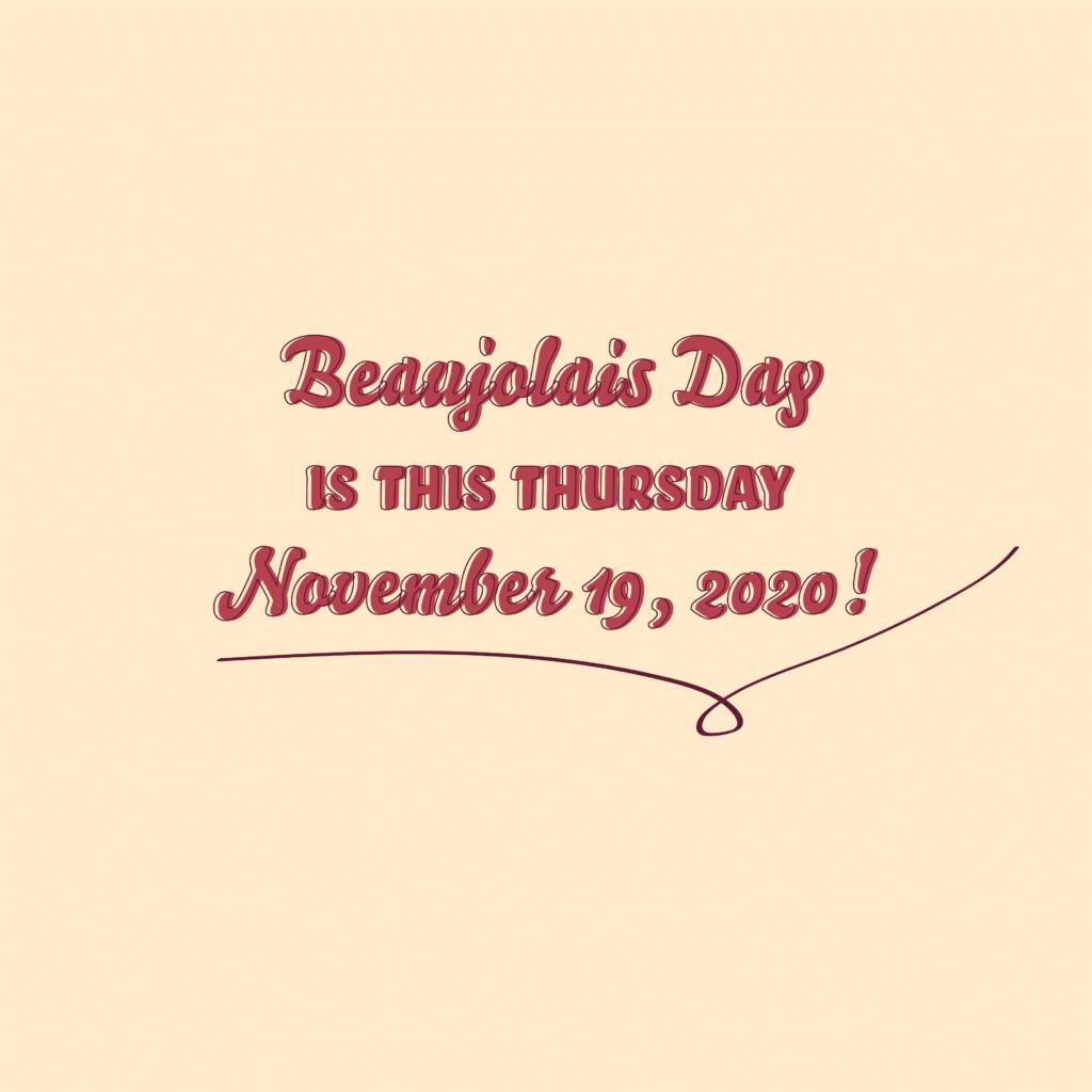 Beaujolais Day 2020
