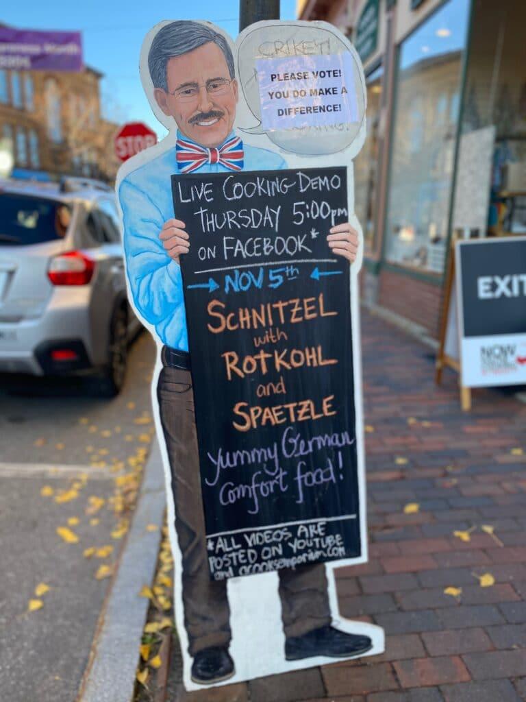 Schnitzel Sign