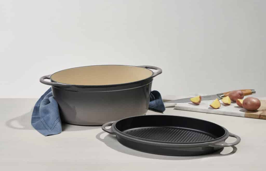 Le Creuset Dutch Oven with Grill Pan Lid