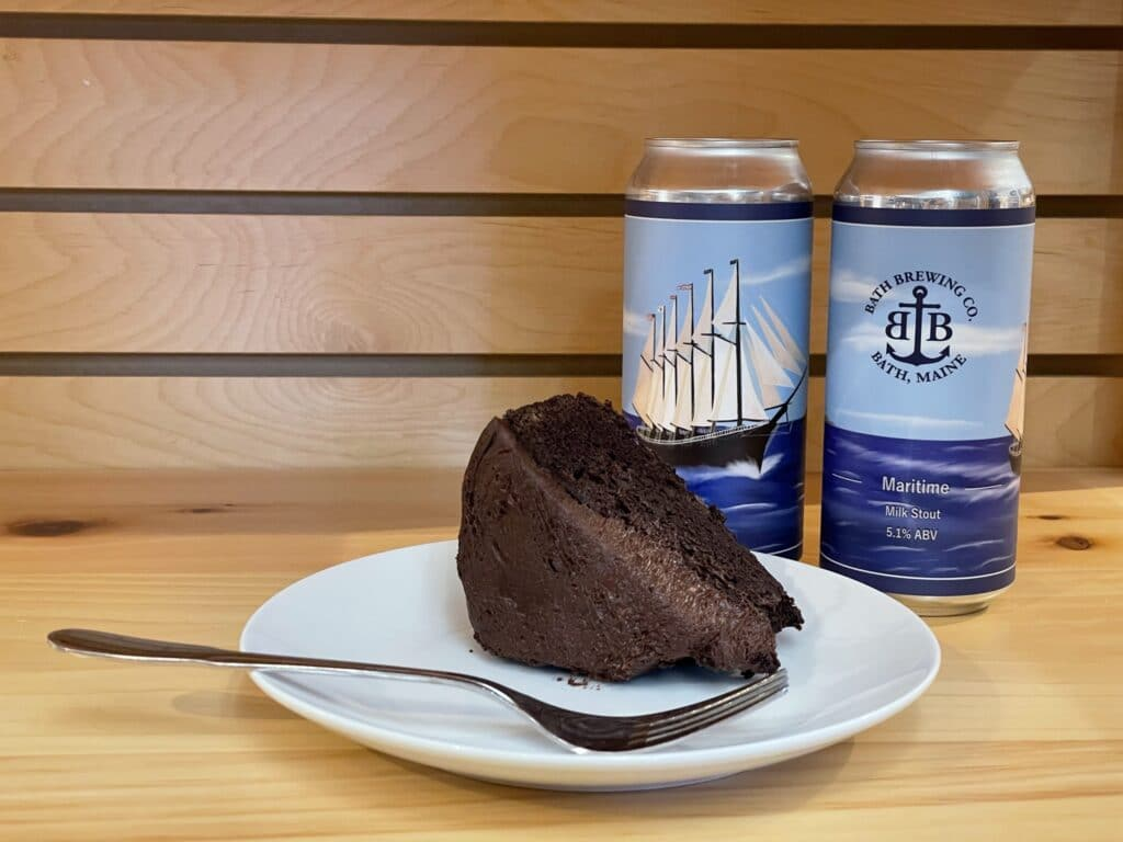 Chocolate Stout Cake with Bath Brewing Beer