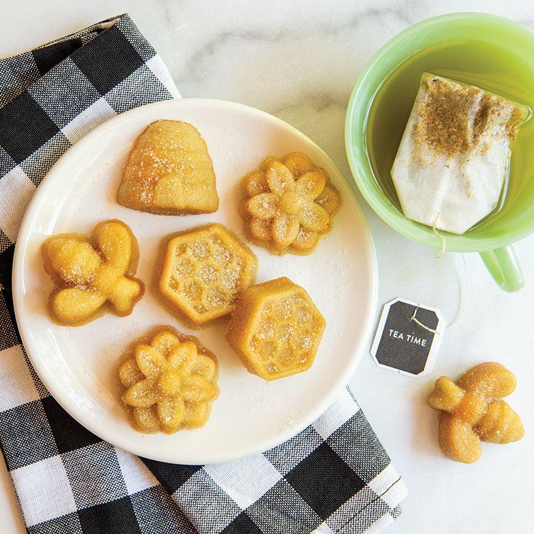 Chamomile Honey Cakelets