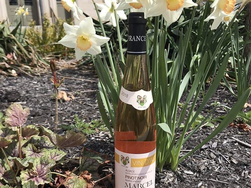 Marcel Hugg Bottle of Rosé