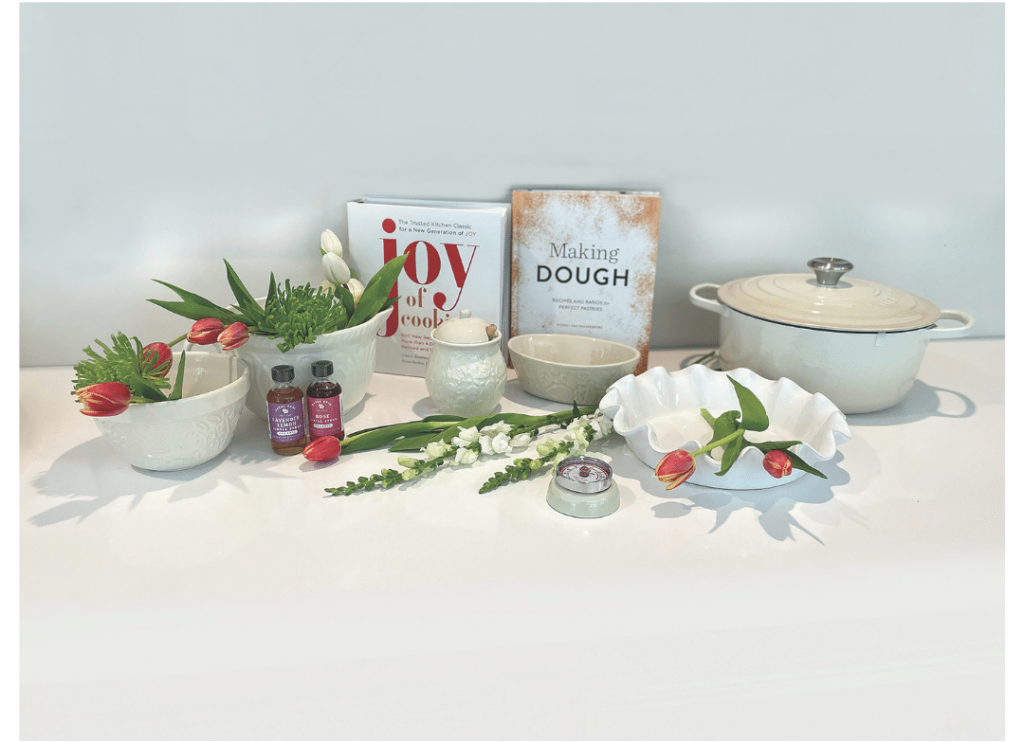 Cookware with Flowers