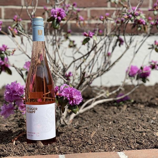 Rose Wine Bottle
