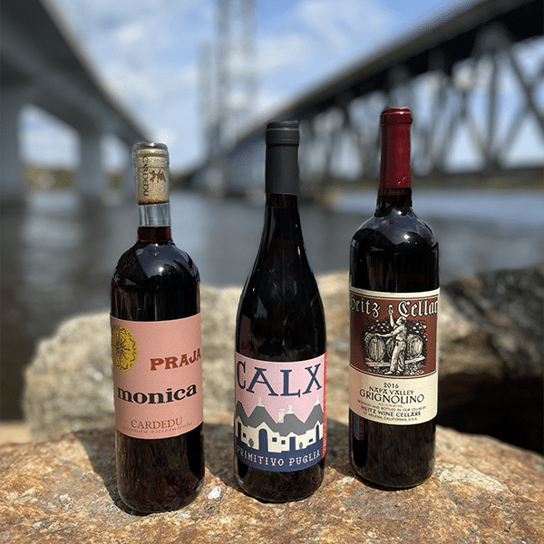 Warm weather red wines