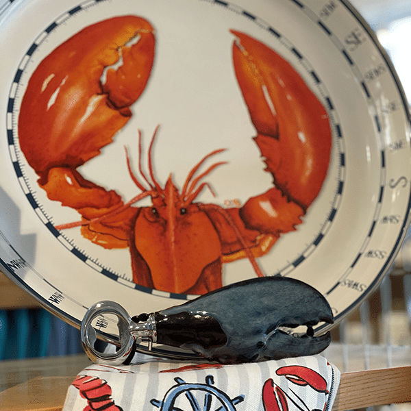 Lobster Plate with Claw
