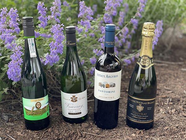 4 bottles of wine