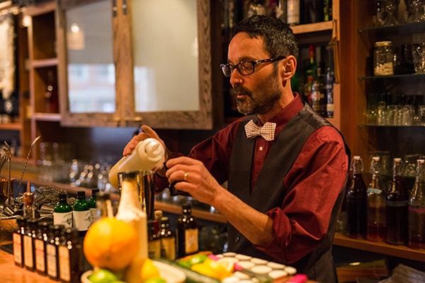 Steve at Bar