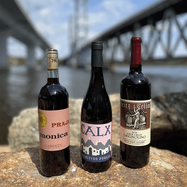 3 red wines